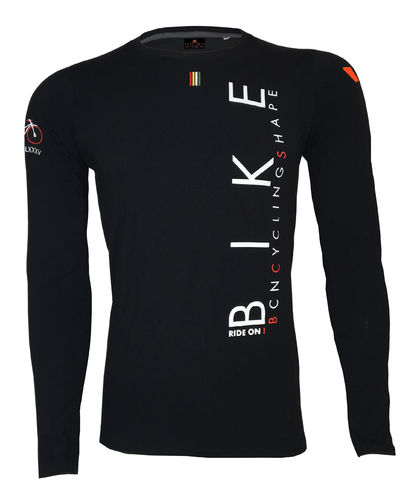 CAMISETA FIT HOMBRE MANGA LARGA - TUXÉN BIKE