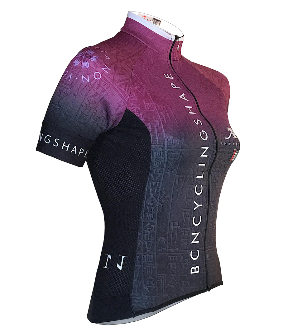 MAILLOT CICLISMO MUJER CAPTAIN Pro.